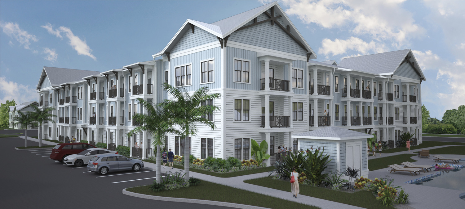 CBG builds Penler South Westshore, a 205-Unit Luxury Garden-Style Apartment Community in Tampa, FL - Image #1