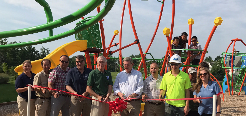 Ribbon Cutting Celebrates Dulles Station Community Park Press Release Image
