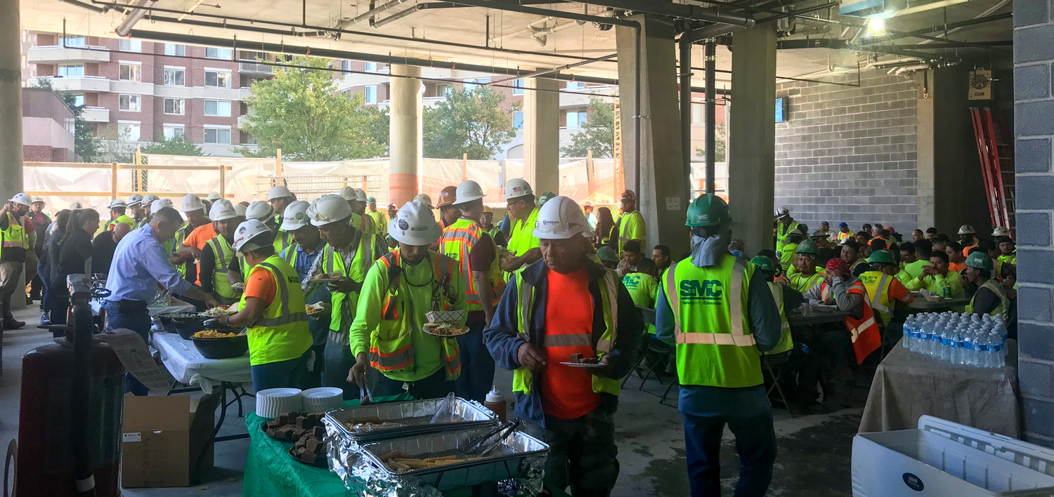J Sol Commemorates Topping Out - Press Release Image