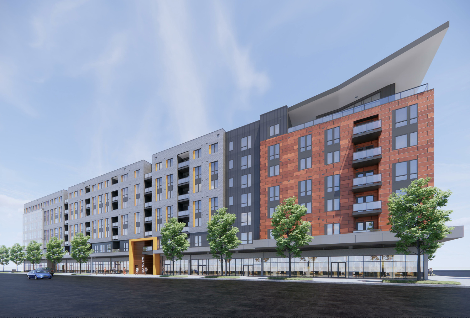 CBG builds Marlow, a 472-Unit, LEED® Platinum Luxury Apartment Community with Retail in Columbia, MD - Image #1