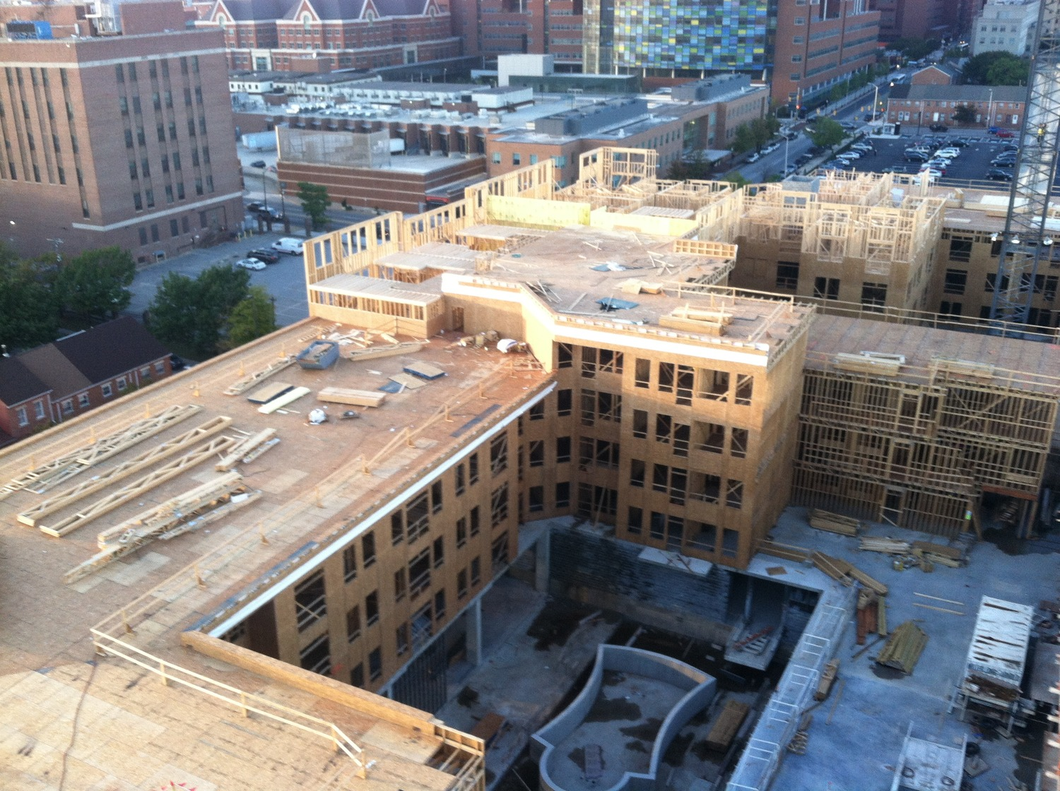 CBG builds Jefferson Square at Washington Hill, a 304-Unit Mixed-Use Apartment Community with Cast-in-Place Parking Garage in Baltimore, MD - Image #6