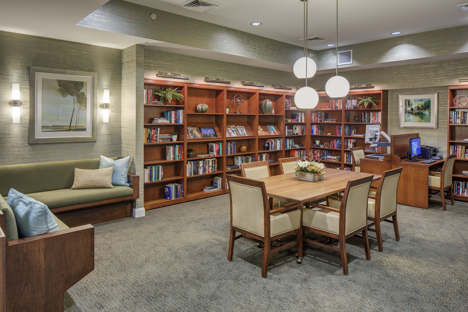 CBG builds Brightview Woodburn, a 94-Unit Senior Assisted-Living Facility with Expansive Common Areas in Annandale, VA - Image #3