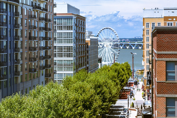 CBG builds The Haven at National Harbor, a LEED®-Certified Condominium Community with Amenities and Below-Grade Parking in National Harbor, MD - Image #3