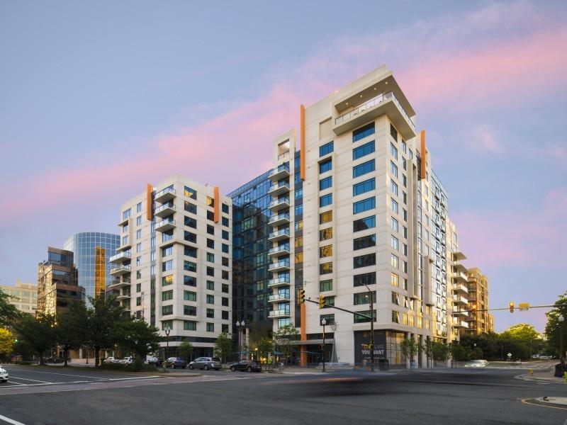 CBG builds Latitude, a 12-Story LEED® Gold Mixed-Use Community with Below-Grade Parking in Arlington, VA - Image #1