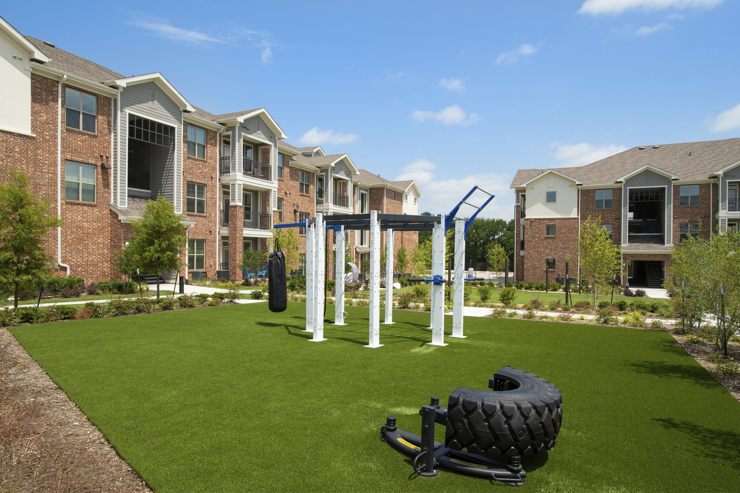 CBG builds Copper Ridge Phase III, a Three-Story, 168-Unit Apartment Community Across Eight Buildings in Roanoke, TX - Image #5
