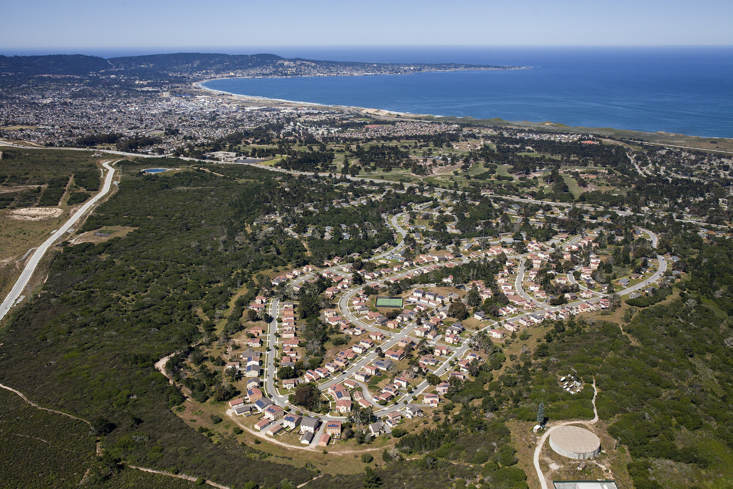 CBG builds Monterey Bay Military Housing, a 2,580 Homes for Army, Navy, and Marine Corps Service Members and Students in Monterey, CA - Image #1