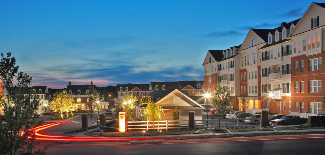CBG builds The Enclave at Emerson, a 164 Luxury Rental Townhomes and Apartments in Laurel, MD