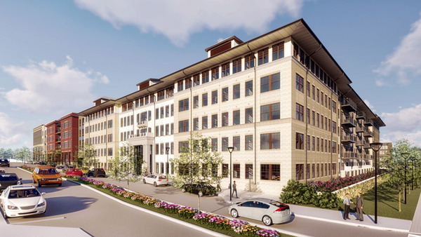 CBG builds Riverdale Park Station, a 229-Unit Mixed-Use Apartment Community Within Retail Center in Riverdale Park, MD - Image #1
