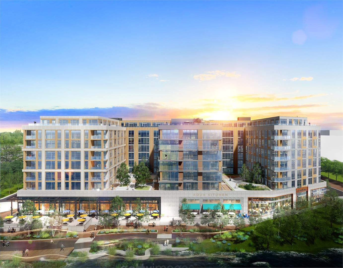 CBG builds River Point, a 485-Unit Renovated Mixed-Use Community in Washington, DC - Image #1