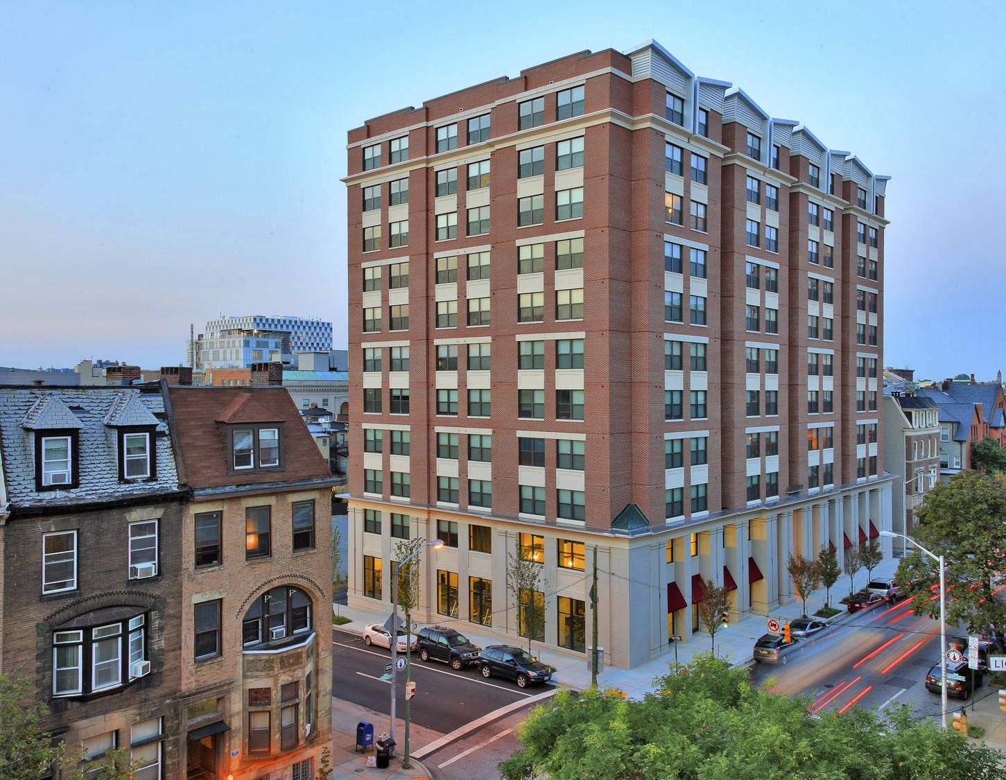 CBG builds Varsity at University of Baltimore, a 11-Story, 323-Bed Student Housing Community with 114 Luxury Apartment Units in Baltimore, MD - Image #1