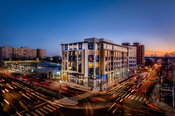CBG builds The Maxwell, a 163-Unit LEED® Gold Mixed-Use Community with Below-Grade Parking in Arlington, VA - Image #1