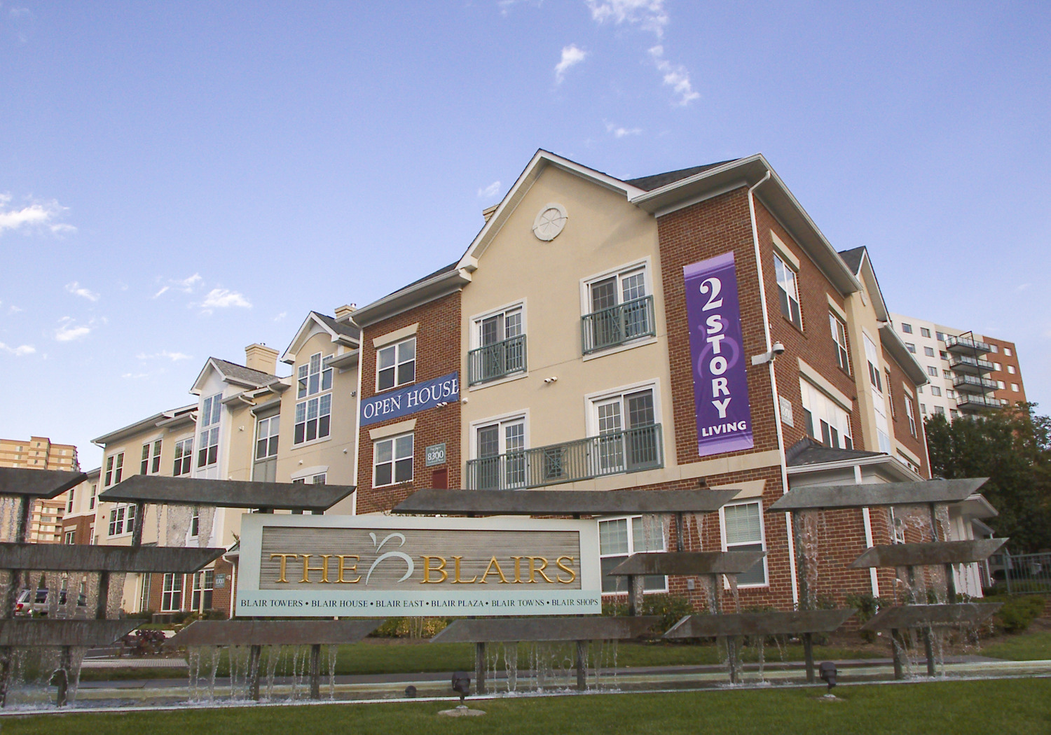 CBG builds The Blair Towns, a 78 LEED® Certified Luxury Townhomes in Silver Spring, MD