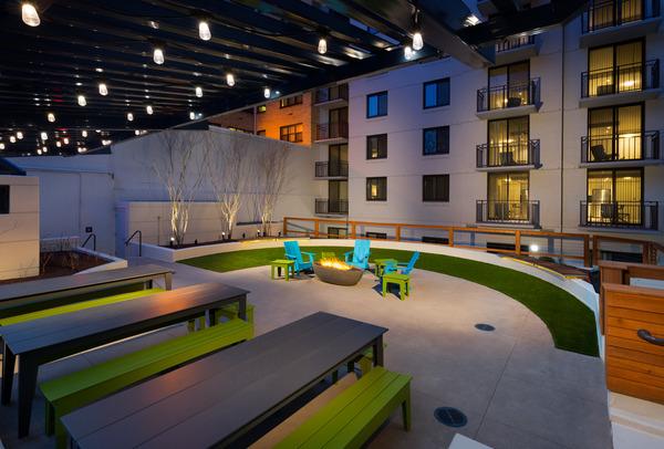 CBG builds Varsity on K, a 12-Story Renovated Student Housing Community with Underground Parking in Washington, DC - Image #6
