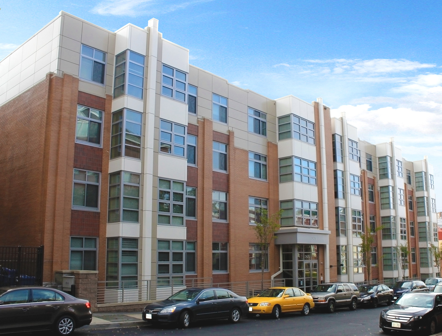 CBG builds Dorchester House Addition, a 117 Wood-Framed Apartments with Below-Grade Parking Garage in Washington, DC - Image #1