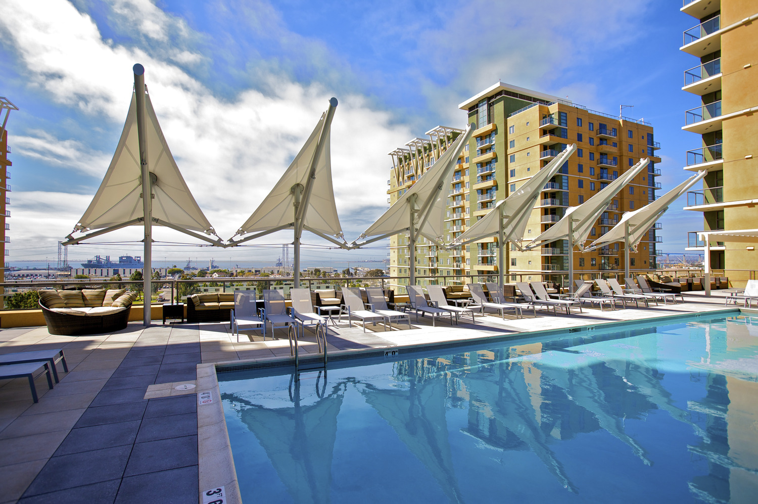 CBG builds Pacific Beacon, a 2,398 Beds in 1,199-Unit Luxury Apartment Community for Single Sailors and Students in San Diego, CA - Image #2