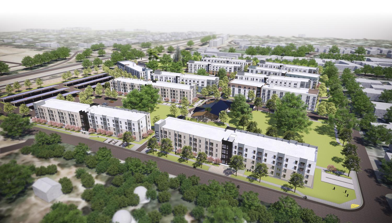 CBG builds UC Davis Orchard Park, a 14-Building Graduate Student and Family Housing Community Across 19 Acres in Davis, CA