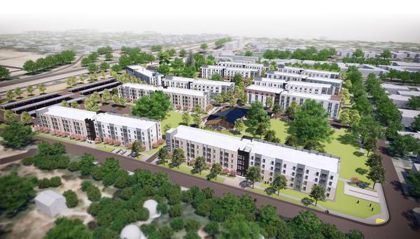 CBG builds UC Davis Orchard Park, a 14-Building Graduate Student and Family Housing Community Across 19 Acres in Davis, CA - Image #1