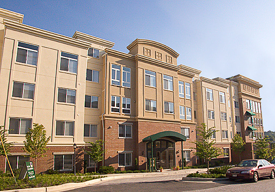 CBG builds Dulaney Crescent, a 264-Unit Apartment Community with Cast-in-Place Parking in Towson, MD - Image #1