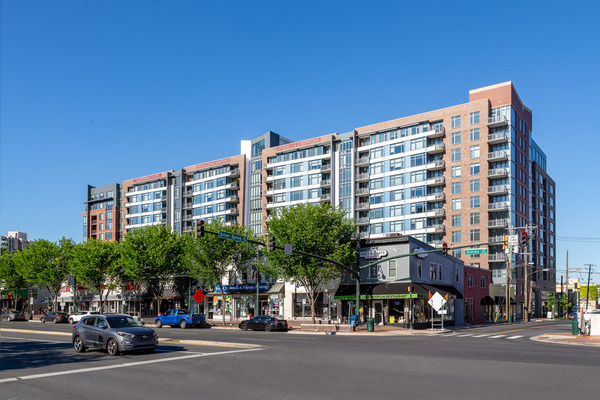 CBG builds Thayer & Spring, a 11-Story LEED® Silver Community with Retail and Below-Grade Parking in Silver Spring, MD - Image #1
