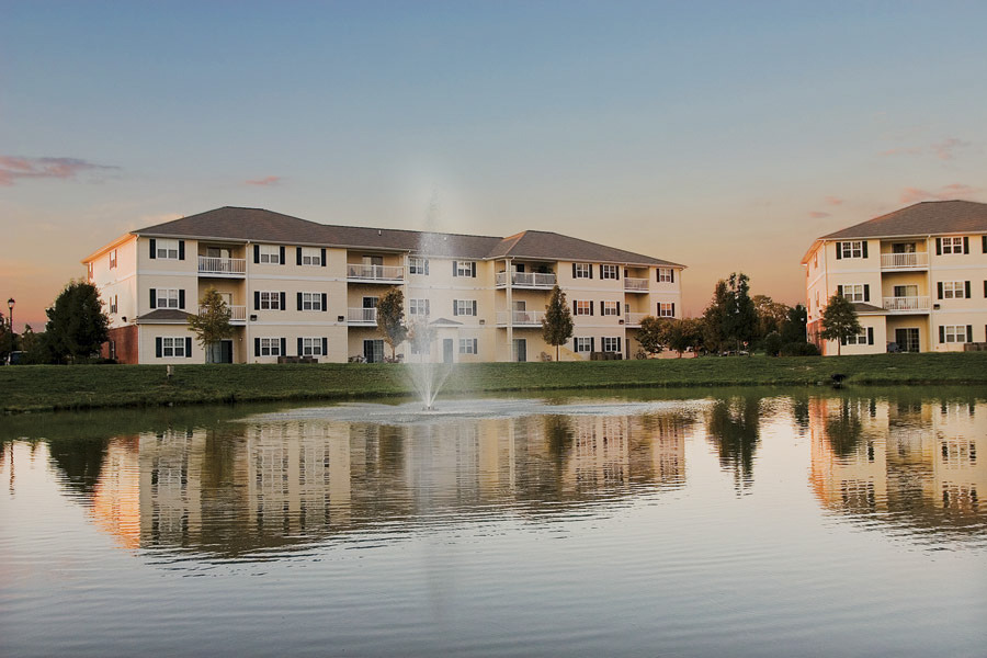 CBG builds Mill Pond Village Phase III, a 96 Market-Rate Apartment Homes in Salisbury, MD