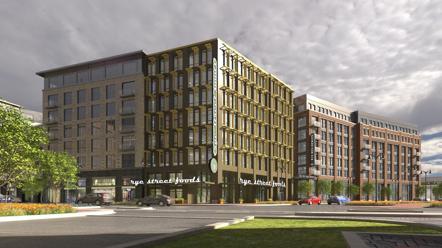 CBG builds Port Covington E1, a NGBS-Gold, 162-Unit Mixed-Use High-Rise with Precast Garage in Baltimore, MD - Image #2