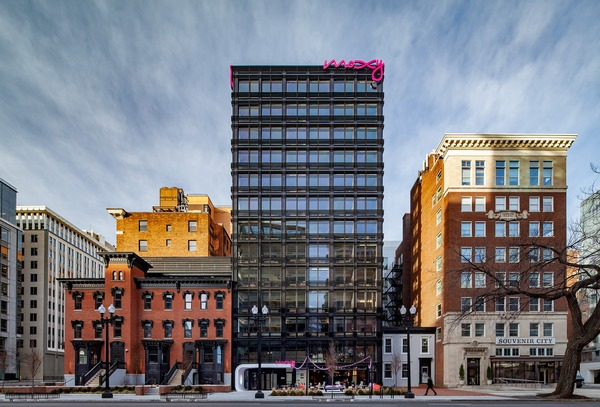 CBG builds Moxy Hotel, a 13-Story LEED® Silver Hotel with Retail in Washington, DC - Image #7