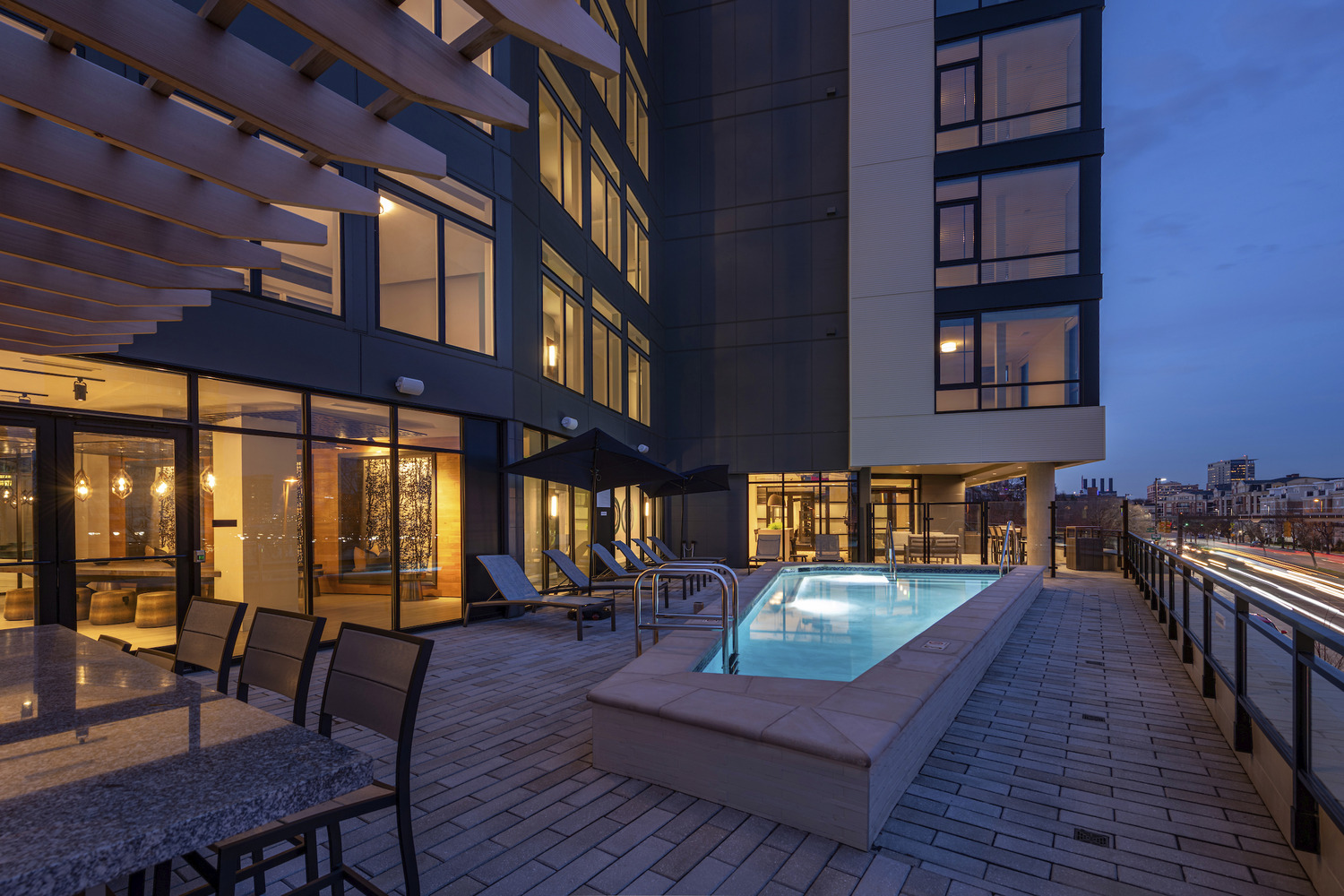 CBG builds Bainbridge Federal Hill, a LEED® Gold 228-Unit Luxury Apartment Community with Podium Parking in Baltimore, MD - Image #6