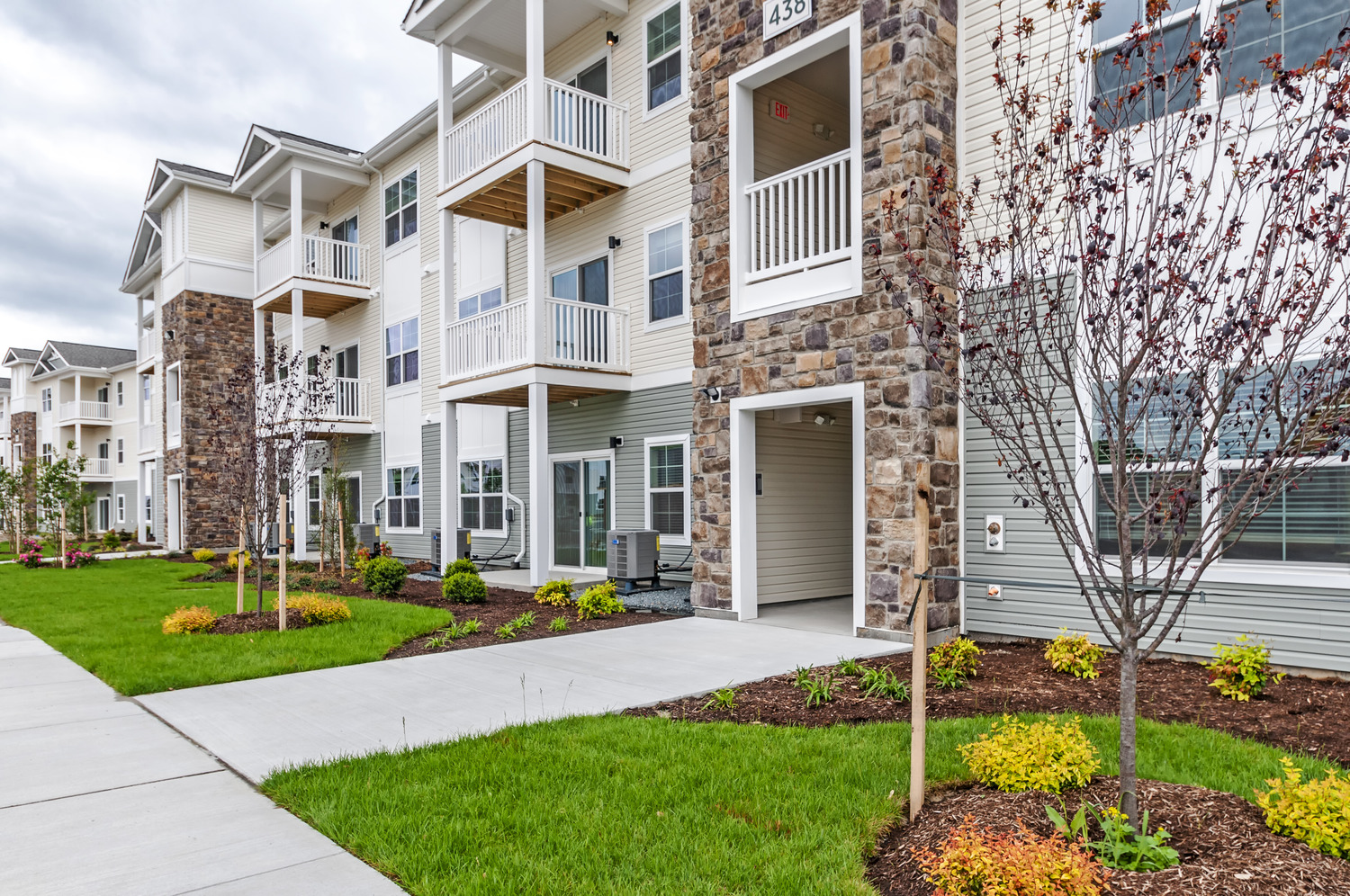CBG builds Coventry Square, a Multi-Building Garden-Style Community with Amenities in Salisbury, MD