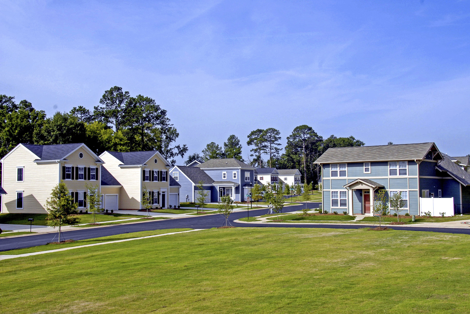 CBG builds Fort Benning Family Housing, a 3,667 Units of Housing for the Army in Fort Benning, GA