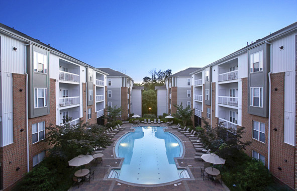 CBG builds Camden Fair Lakes Phase I, a 370 Class A Luxury Apartments in Fairfax, VA - Image #1