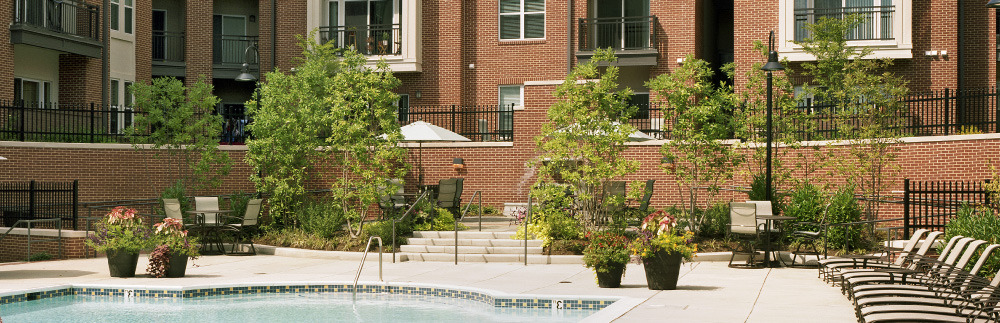 CBG builds Camden College Park, a 508-Unit Luxury Apartment Community with Precast Garage in College Park, MD - Image #3