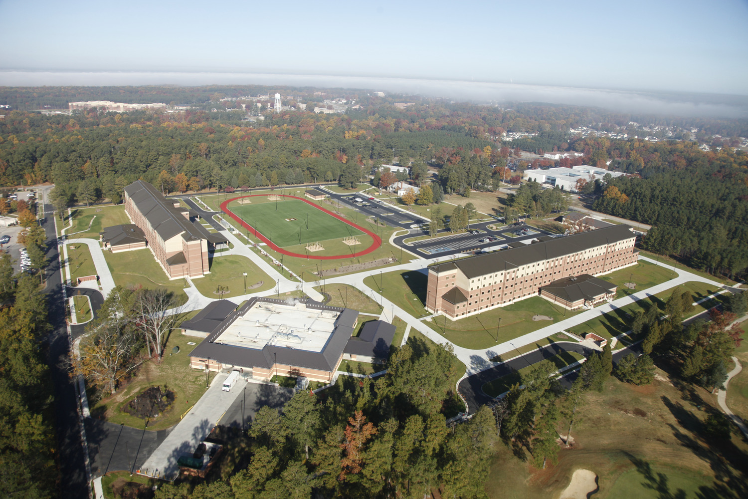 CBG builds Fort Lee AIT Barracks, a 600-Unit Advanced Individual Training Facility and Residential Complex in Fort Lee, VA - Image #7
