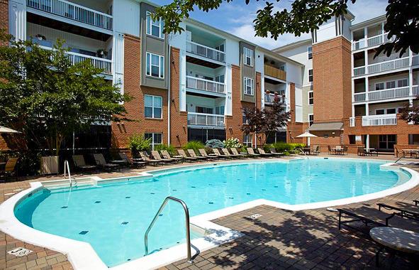 CBG builds Camden Fair Lakes Phase I, a 370 Class A Luxury Apartments in Fairfax, VA - Image #2