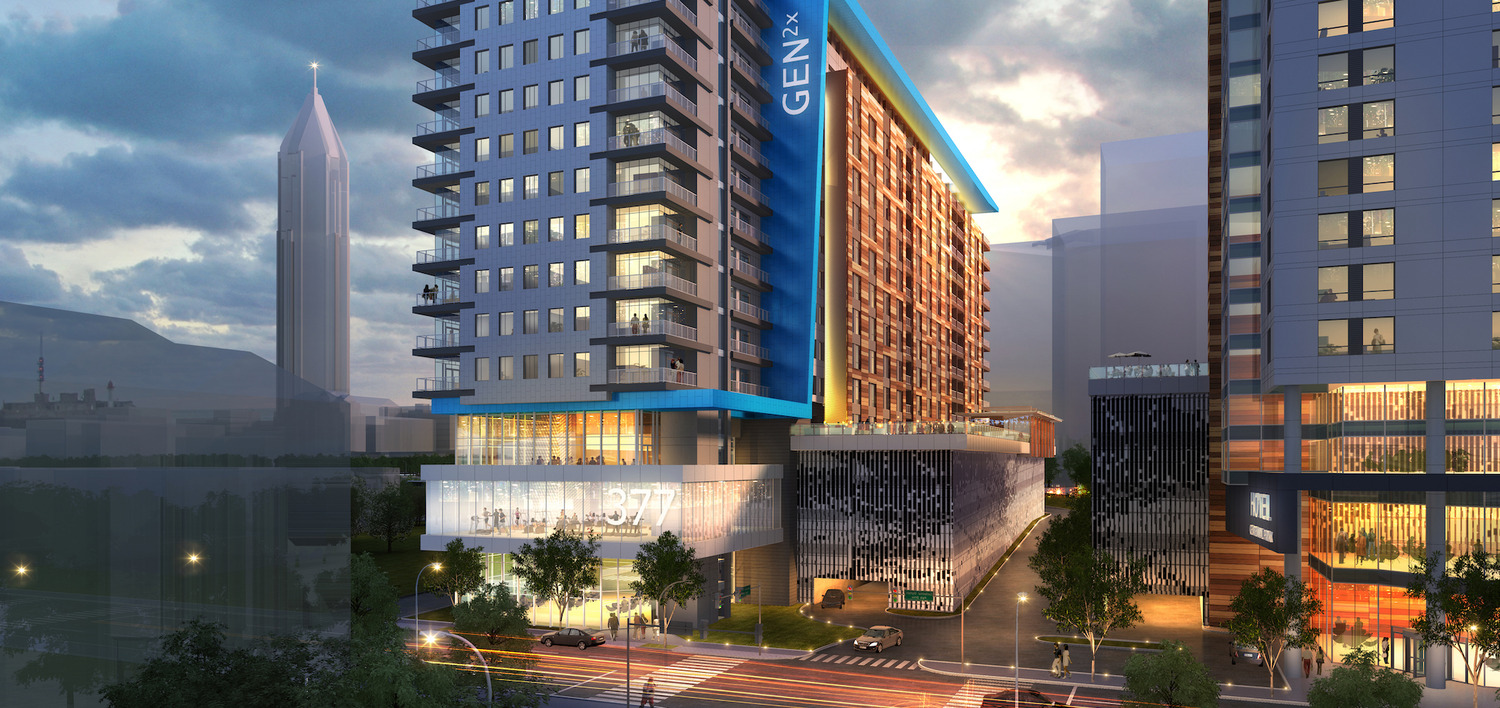 CBG Begins Construction on Nation's Tallest and Atlanta's First Prescient Community Press Release Image