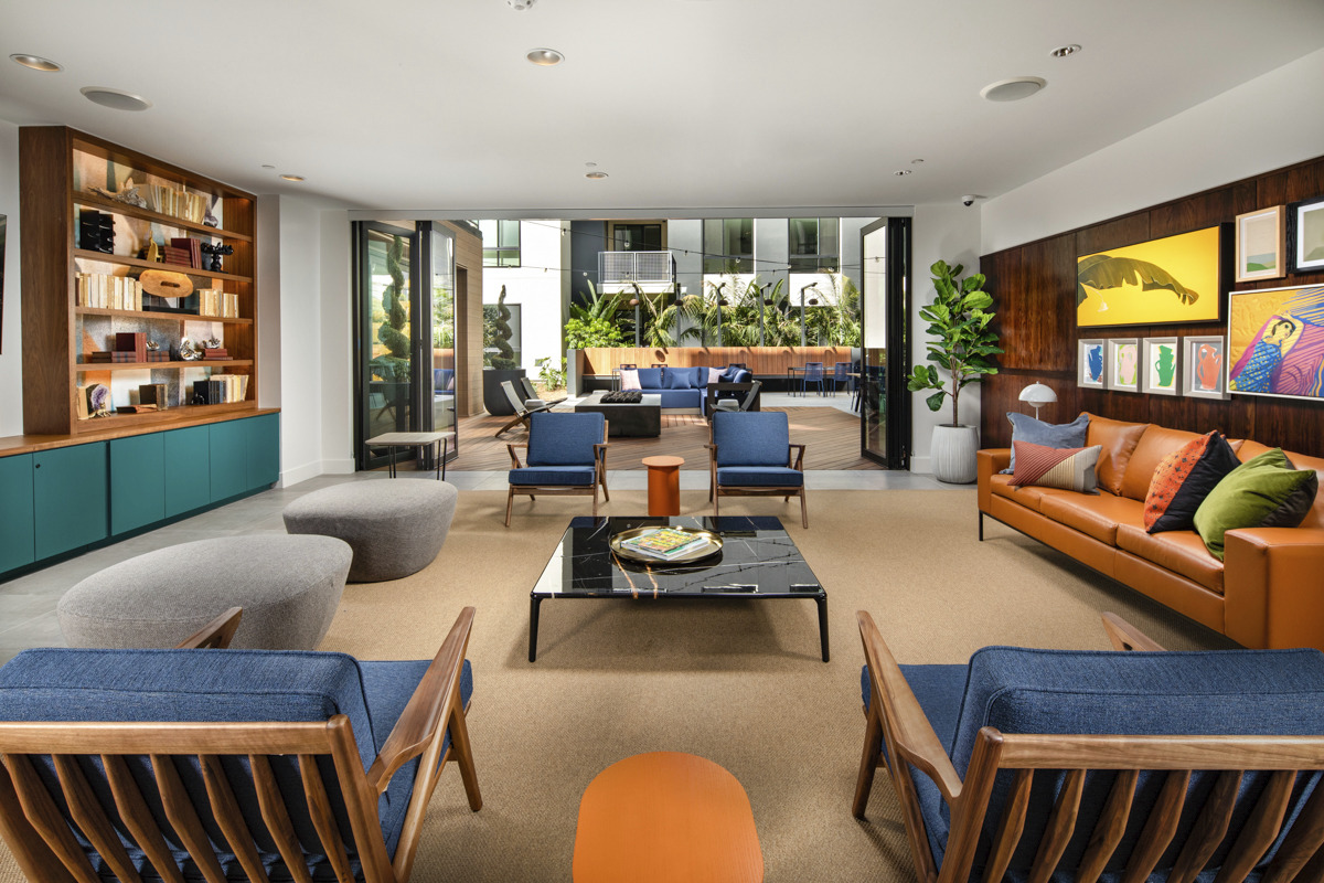 CBG builds Cameo, a 262-Unit Luxury Community with Rooftop and Amenities in Orange, CA - Image #7