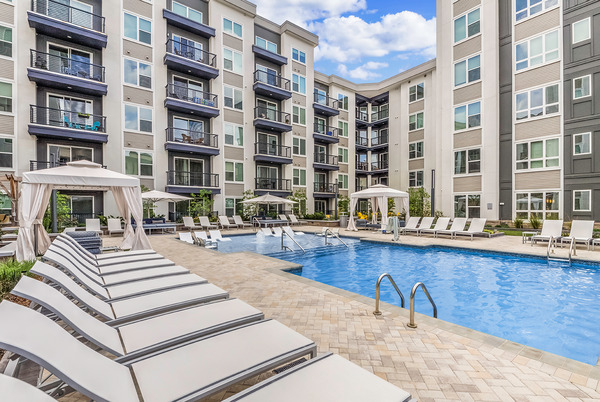 CBG builds Bainbridge South End, a 200-Unit Apartment Community with Amenities and Underground Parking in Charlotte, NC - Image #5
