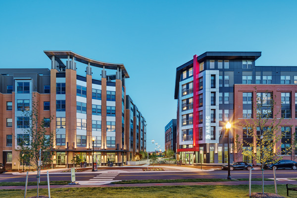 CBG builds Avalon Potomac Yard, a 331-Unit Luxury Apartment Community in Two Buildings Over a Shared Below-Grade Garage in Alexandria, VA - Image #1