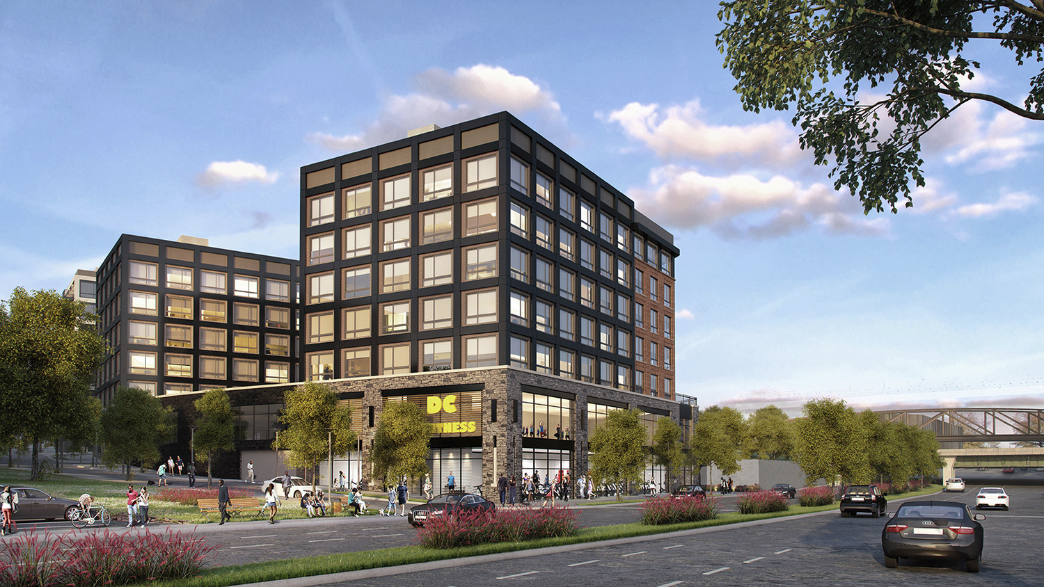 CBG builds Bryant Street, a Urban Mixed-Use Development with 487 Apartments Across Three Buildings in Washington, DC - Image #1