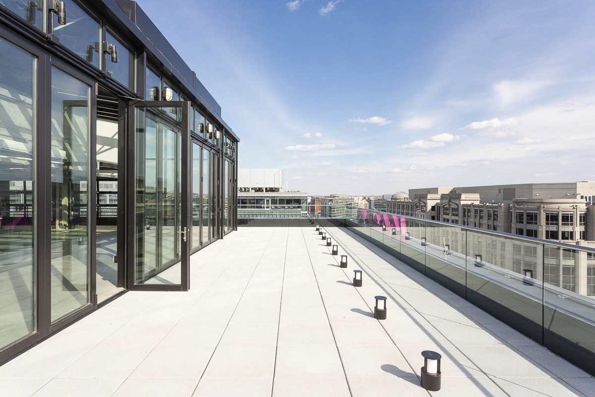 CBG builds Moxy Hotel, a 13-Story LEED® Silver Hotel with Retail in Washington, DC - Image #6