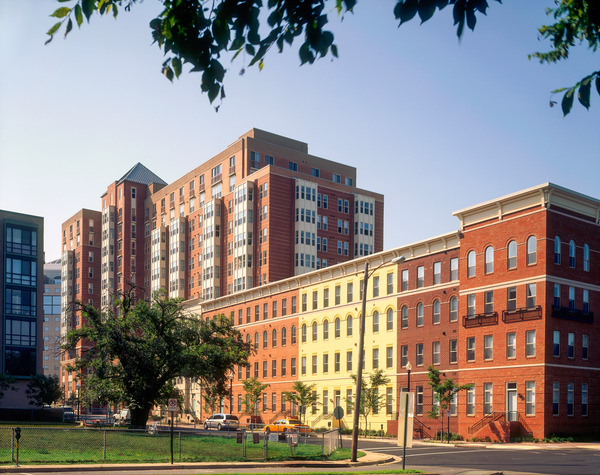 CBG builds The Clarendon, a 12-Story, 292-Unit Luxury Apartment Complex Over a Shared Underground Garage in Arlington, VA - Image #1