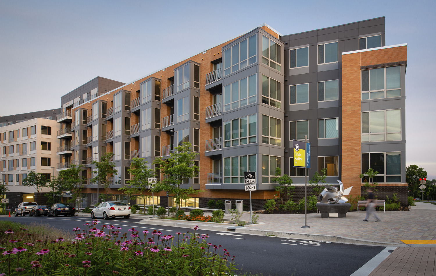 CBG builds m.flats and TEN.M, a 473-Unit Mixed-Use Luxury Apartment Community with Parking Garage in Columbia, MD