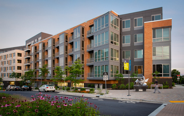 CBG builds m.flats and TEN.M, a 473-Unit Mixed-Use Luxury Apartment Community with Parking Garage in Columbia, MD - Image #1