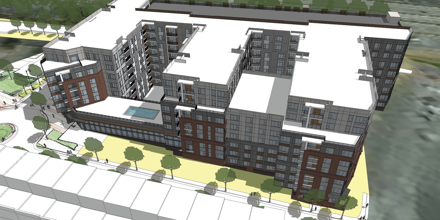 CBG builds Roland Clarke, a NGBS-Certified, 306-Unit Residential High-Rise with Parking and Amenities in Reston, VA - Image #1