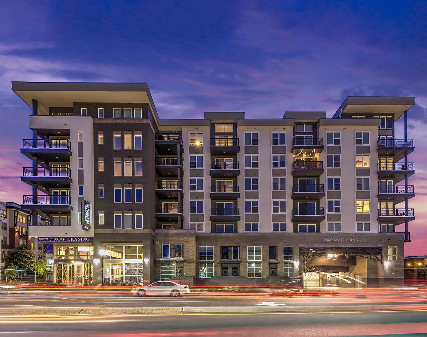 CBG builds Bainbridge South End, a 200-Unit Apartment Community with Amenities and Underground Parking in Charlotte, NC