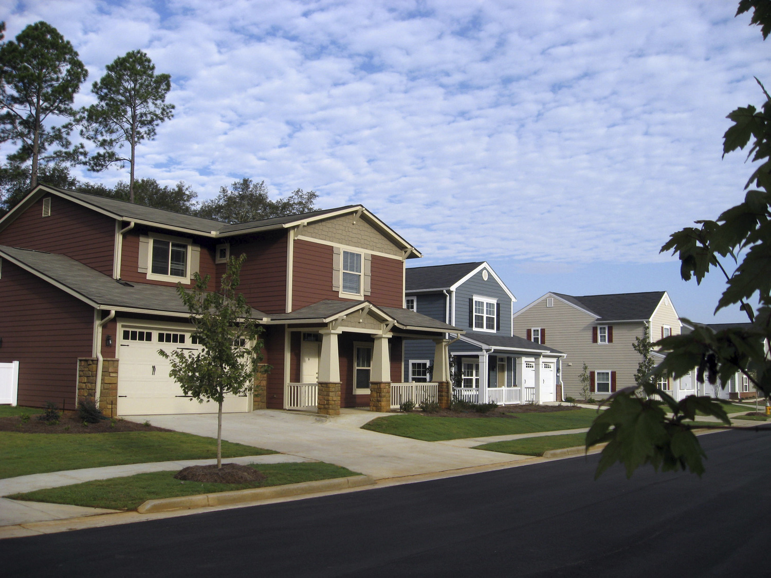 CBG builds MCLB Albany, a 110 Design-Build Duplex and Single-Family Homes in Albany, GA
