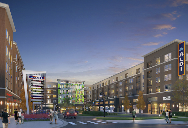 CBG builds South Alex, a 400-Unit LEED® Silver Community with Grocery in Ground-Floor Retail in Alexandria, VA - Image #1