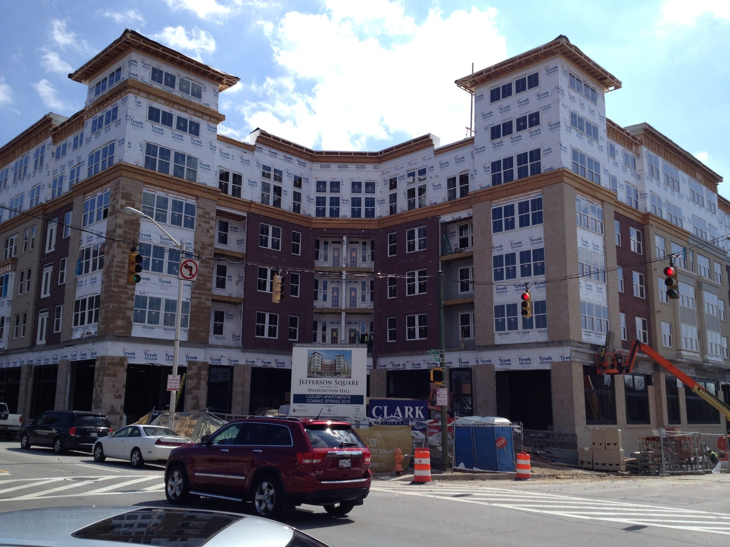 CBG builds Jefferson Square at Washington Hill, a 304-Unit Mixed-Use Apartment Community with Cast-in-Place Parking Garage in Baltimore, MD - Image #12
