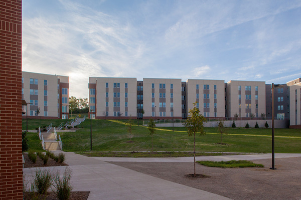 CBG builds Stouffer Place Apartments, a 201-Unit, 708-Bed Student Housing Apartment Community Across Two Buildings in Lawrence, KS - Image #2
