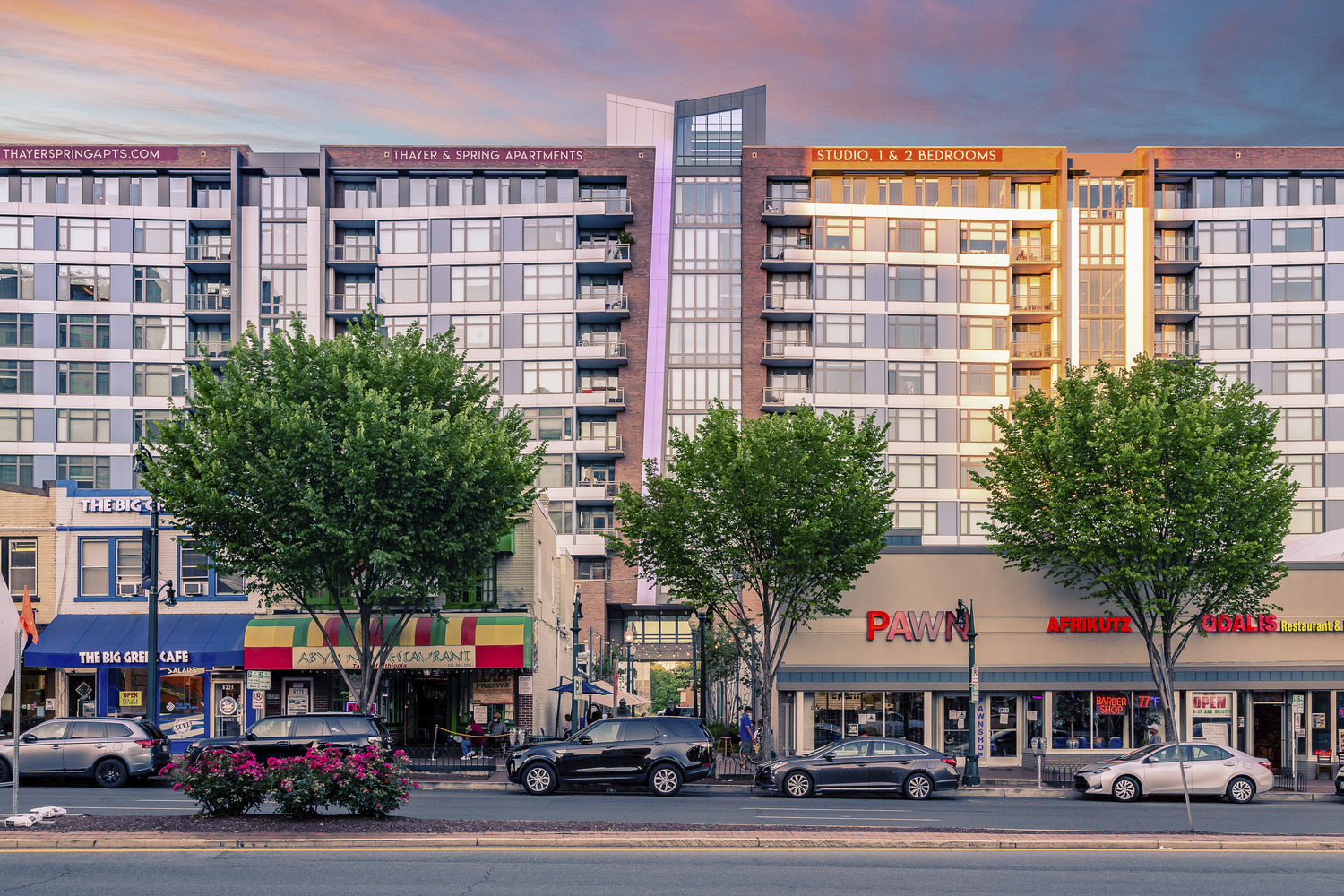 CBG builds Thayer & Spring, a 11-Story LEED® Silver Community with Retail and Below-Grade Parking in Silver Spring, MD - Image #2