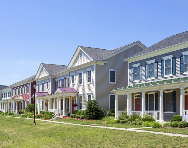 CBG builds Liberty Park at Joint Base Andrews, a 201 New and 162 Renovated Homes for Military Families in the Air Force in Andrews AFB, MD